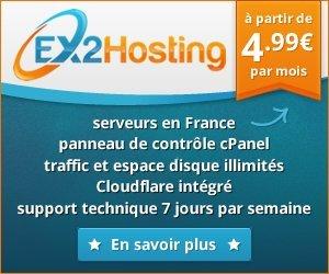 Hébergeur ex2hosting