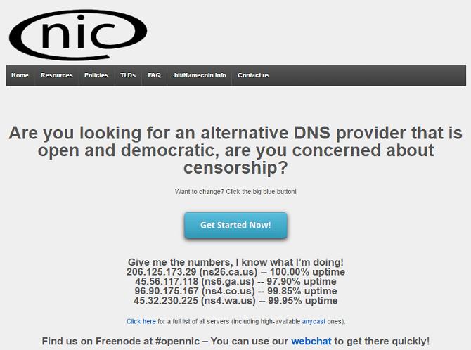 OpenNIC